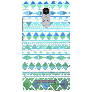 ifasho Animated Pattern colrful 3Dibal design Back Case Cover for REDMI Note 3