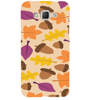 ifasho Animated Pattern colrful design leaves and nuts Back Case Cover for Samsung Galaxy Grand3