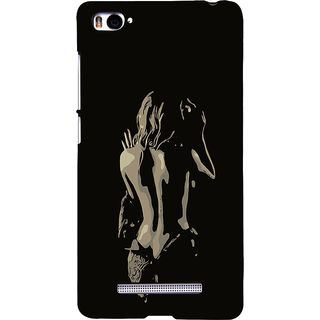 ifasho Chocolate Girl Back Case Cover for Redmi Mi4i