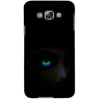 ifasho Girl with shining eyes Back Case Cover for Samsung Galaxy E7