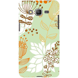 ifasho Animated Pattern painting colrful design cartoon flower with leaves Back Case Cover for Samsung Galaxy Grand Prime