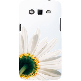 ifasho Flower Design white flower in white background Back Case Cover for Samsung Galaxy Grand