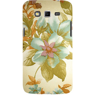 ifasho Animated Pattern colrful design flower with leaves Back Case Cover for Samsung Galaxy Grand