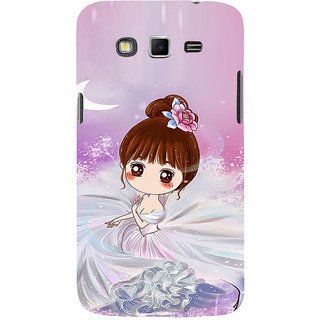 ifasho Princess Girl Back Case Cover for Samsung Galaxy Grand