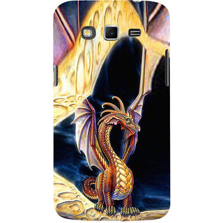 ifasho animated Dragon Back Case Cover for Samsung Galaxy Grand