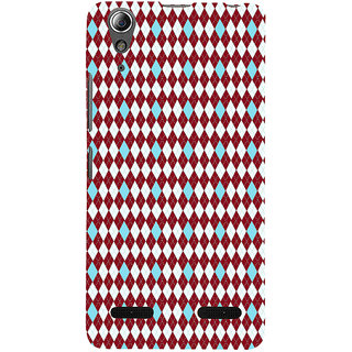 ifasho Animated Pattern design colorful in royal style Back Case Cover for Lenovo A6000