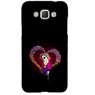 ifasho Animated Pattern With Love and heart and Ishq Back Case Cover for Samsung Galaxy Grand3