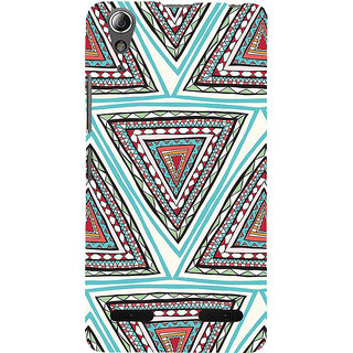 ifasho Animated Pattern colrful 3Dibal design Back Case Cover for Lenovo A6000