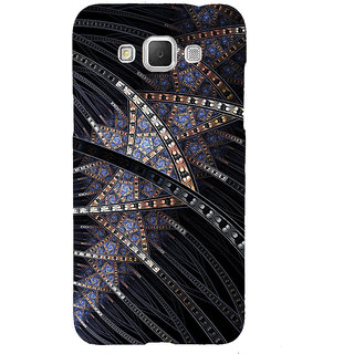 ifasho modern design in multi color pattern Back Case Cover for Samsung Galaxy Grand3