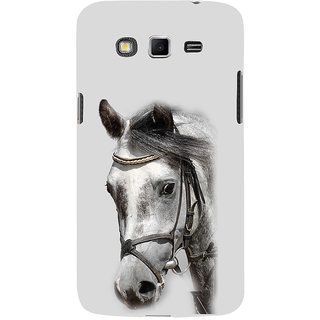 ifasho Designed Painting Horse Back Case Cover for Samsung Galaxy Grand