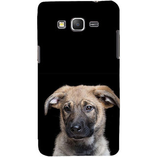 ifasho Grey Dog Back Case Cover for Samsung Galaxy Grand Prime