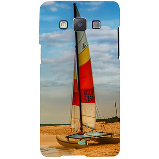 ifasho Boat in a beach Back Case Cover for Samsung Galaxy A7