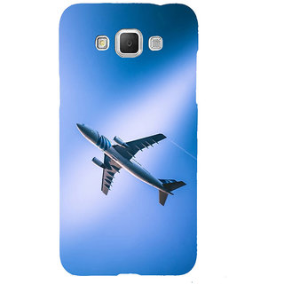 ifasho aeroPlane flying in blue sky Back Case Cover for Samsung Galaxy Grand3