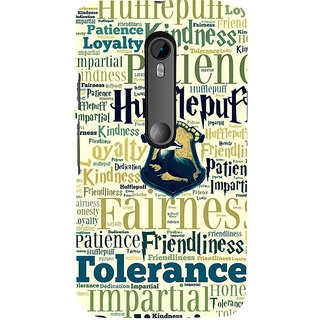 ifasho Motivatinal Quote Back Case Cover for Moto X Force