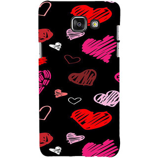 ifasho Animated Pattern With Love Back Case Cover for Samsung Galaxy A7 A710 (2016 Edition)
