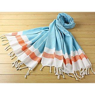 Turkish Towel Pestemal Hand Loomed Pestemal Bath Towel Hammam %80 Cotton-%20 Bamboo (35x70