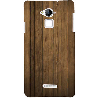 ifasho Brown Wooden Pattern Back Case Cover for Coolpad Note 3
