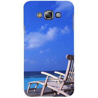 ifasho Beach  Back Case Cover for Samsung Galaxy E7
