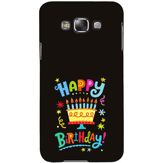 ifasho Wishing Happy birtday For Occassion Back Case Cover for Samsung Galaxy E7
