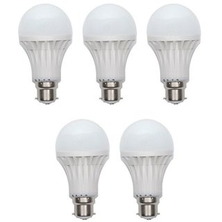 Homes Dcor 9W Pack of 5 LED Bulb