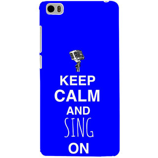 ifasho Nice Quote On Keep Calm Back Case Cover for Redmi Mi5