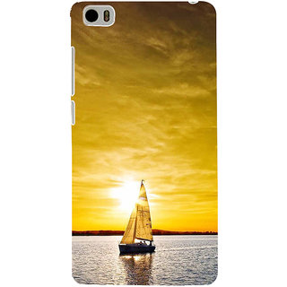 ifasho Boating at sunset Back Case Cover for Redmi Mi5