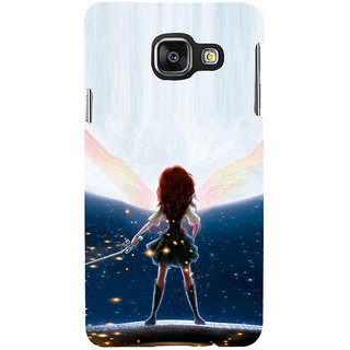 ifasho Girl with blade animated Back Case Cover for Samsung Galaxy A3 A310 (2016 Edition)