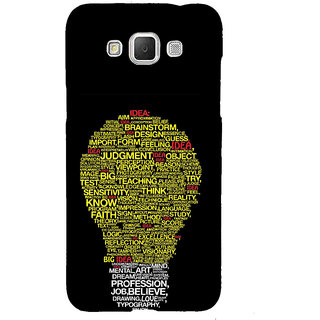ifasho Quotes on idea animated bulb Back Case Cover for Samsung Galaxy Grand Max