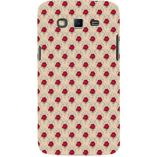 ifasho Animated Pattern small red rose flower Back Case Cover for Samsung Galaxy Grand
