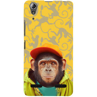 ifasho Monkey with red cap Back Case Cover for Lenovo A6000