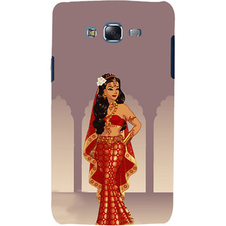 ifasho Draupadi Mahabharat Back Case Cover for Samsung Galaxy J7