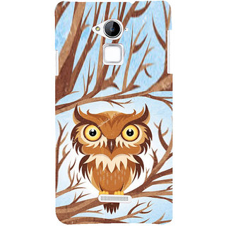 ifasho Animated Owl Pattern Back Case Cover for Coolpad Note 3