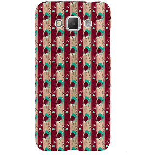 ifasho Animated Pattern design colorful flower in vertical s3Dipe Back Case Cover for Samsung Galaxy Grand3