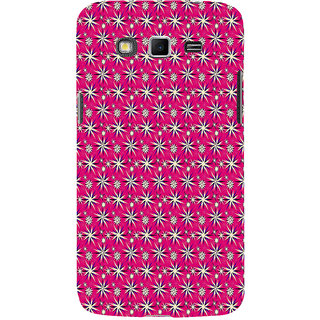 ifasho Pattern green white and red animated flower design Back Case Cover for Samsung Galaxy Grand