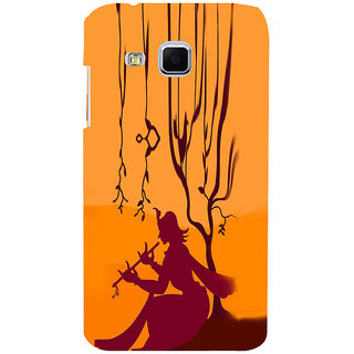 ifasho Lord Krishna with Flute animation Back Case Cover for Samsung Galaxy J3