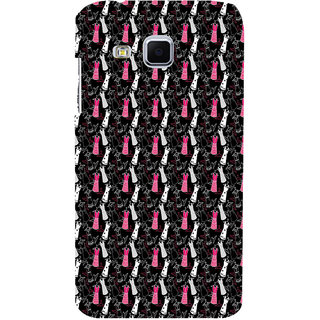 ifasho Pattern girls dresses frock suits Back Case Cover for Samsung Galaxy J3