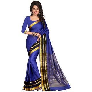 Inheart Multi Zari Cotton Saree
