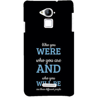 ifasho Philosophical Messge Back Case Cover for Coolpad Note 3