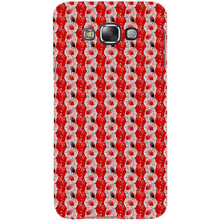 ifasho Animated  Feather Back Case Cover for Samsung Galaxy E7