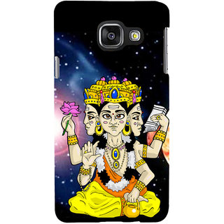 ifasho Lord Brahma Back Case Cover for Samsung Galaxy A3 A310 (2016 Edition)