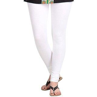 Women's Fashion Regluar Fit White Legging