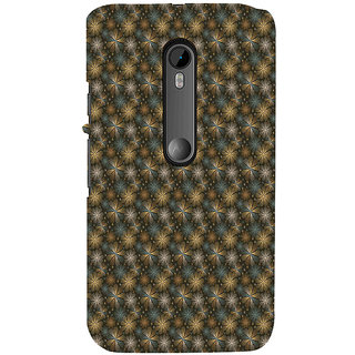 ifasho Animated Pattern design many small flowers  Back Case Cover for Moto X Force