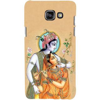 ifasho radha Krishna Back Case Cover for Samsung Galaxy A7 A710 (2016 Edition)