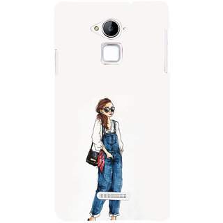 ifasho Girl in jeans Back Case Cover for Coolpad Note 3