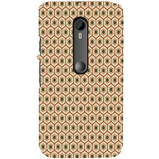 ifasho Animated Pattern colrful 3Dibal design Back Case Cover for Moto X Force