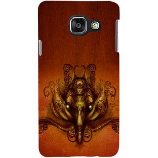 ifasho Modern Art Ganesh Back Case Cover for Samsung Galaxy A3 A310 (2016 Edition)