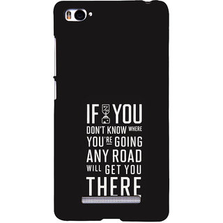 ifasho Life quote Back Case Cover for Redmi Mi4i