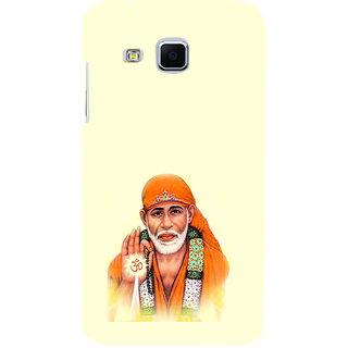 ifasho Shirdi wale Sai Baba Back Case Cover for Samsung Galaxy J3