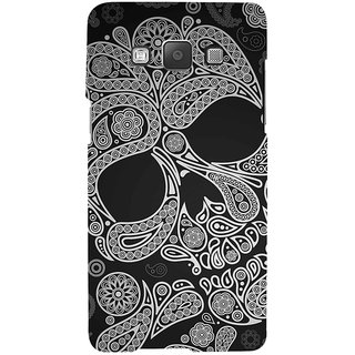 ifasho Modern  Design skeleton in royal Pattern Back Case Cover for Samsung Galaxy A7