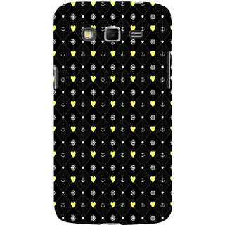 ifasho Modern Art Design Pattern with Lot Of small heart and anchor Back Case Cover for Samsung Galaxy Grand